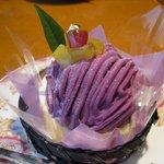 10646119 - 紫芋のモンブラン