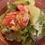 Maison Michel - 前菜:桜鱒とサラダ