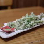 蕎麦正 まつい - 山菜の天ぷら☆