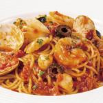 魚介のトマトソーススパゲティ