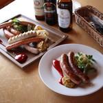 森のソーセージレストラン ベルツ - 料理写真:2004年ドイツ国際見本市IFFAにて金賞を受賞したソーセージ