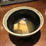 106464962 - うどの味噌汁仕立てスープ