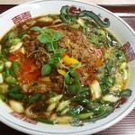 万里 - 料理写真:ネギ坦々麺。