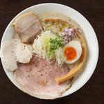 麺や 樂 - 白湯しょうゆ