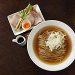 麺や 樂 - 清湯生揚しょうゆ