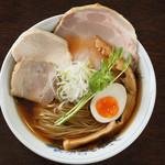 麺や 樂 - 清湯しょうゆ