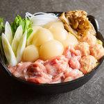 【茨城産つくば鶏】美肌効果抜群♪ぷるっぷる塩コラーゲン鍋!茨城ブランドのつくば鶏を使用した女性人気鍋