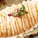 黒豆納豆と奥久慈卵の明太チーズオムレツ