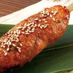茨城豚と鶏ナンコツつくね(タレ)