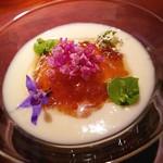 106472401 - ボリジの花大好き ホワイトアスパラに貝のタルタル♡