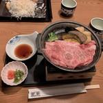 藍屋 - 《国産》黒毛和牛の鉄陶板焼き膳
