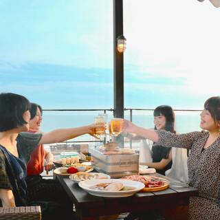 鎌倉の海を眺望できる抜群のロケーション!