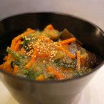 ドンブリオ - 有機野菜のあんかけ丼(900円)