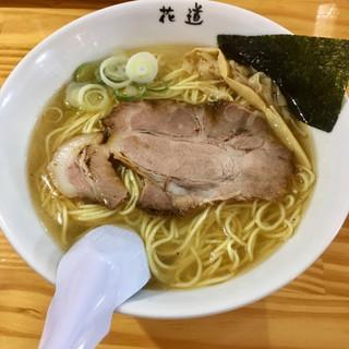 地鶏らーめん花道  - 料理写真:塩らーめん