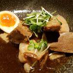 赤坂かこい 別邸 彩華 - 豚の角煮 半熟味玉付け玉子付き