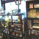 ティース パーク - 雑貨屋風の店内