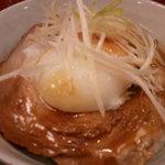10649131 - チャーシュー半熟卵めし ¥350円