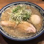 麺屋 八海山 - 料理写真:味玉入り煮干しそば