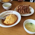 大阪王将 - 料理写真:妻に一度に頼み過ぎと言われました。(◞‸◟)