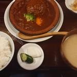 和食 下島 - 料理写真:煮込みハンバーグ定食
