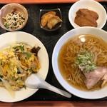 東天紅 - 料理写真:東天紅セット(東天飯)