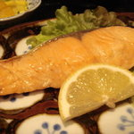 蔵 - 鮭の粕漬け@ランチ090105