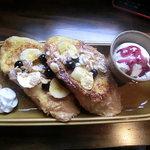 ブラウンモジョリズム - 15時〜限定の豆乳のフレンチ トースト
