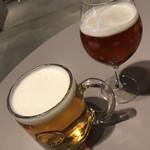 106504343 - 常陸野ネストだいだいエールとハートランドビール