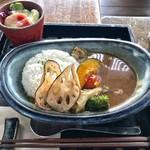 和カフェたらそ - カレー¥1500(外税)