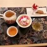 花咲み荼 - 全てのお茶にお菓子が付きます。