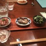 更科藤井 - そば点心の旬菜三種盛り