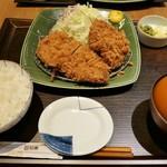 とんかつ和幸 - (2019/3月)「ひれロース盛り合わせご飯」