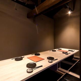一軒屋の京町屋空間宴会席2~22名様まで可能