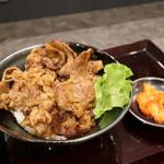 肉のヤマキ商店 - 料理写真:カルビ焼肉丼 (大)