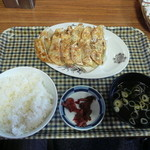 10653180 - ダブル餃子のセット 780円