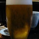 割烹 天ぷら 三太郎 - 生ビール!!