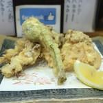 片町 弥ひろ - 旬の野菜天盛り合わせ