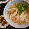 うどん ウエスト - 料理写真:'19/04/27 ごぼう天うどん(税込480円)