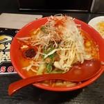 麺家 津田四川 - 野菜たっぷりのこっさり2辛