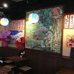 泡盛と沖縄地料理あかはち - 掘りごたつ席の絵