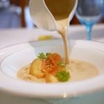 シュマン - 甲殻類のビスクスープ