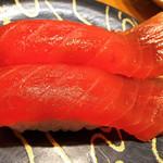 グルメ回転寿司 函太郎 - 漬けマグロ