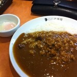 CoCo壱番屋 - 納豆カレー580円に半熟玉子70円