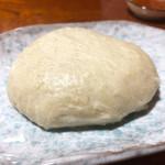 手打ちそば 藤村 - 蕎麦がき