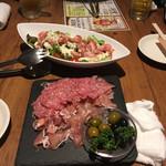 ワインバル ビストロ パッチョ  - カルパッチョが美味しかった( ^ω^ )