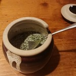 野菜酒場 天ぷら白金 - 山椒塩