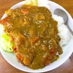 あけぼの食堂 - 料理写真:カツカレー 600円