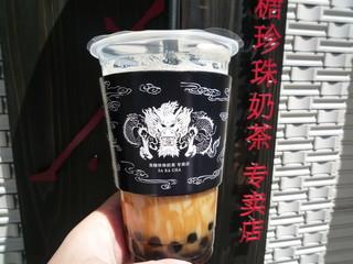 茶來茶 - 黒糖タピオカミルクティー・ICE(鉄観音) 555円