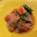 和食ながい - 金目鯛しそポン酢