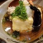 和食ながい - 揚げ出し豆腐